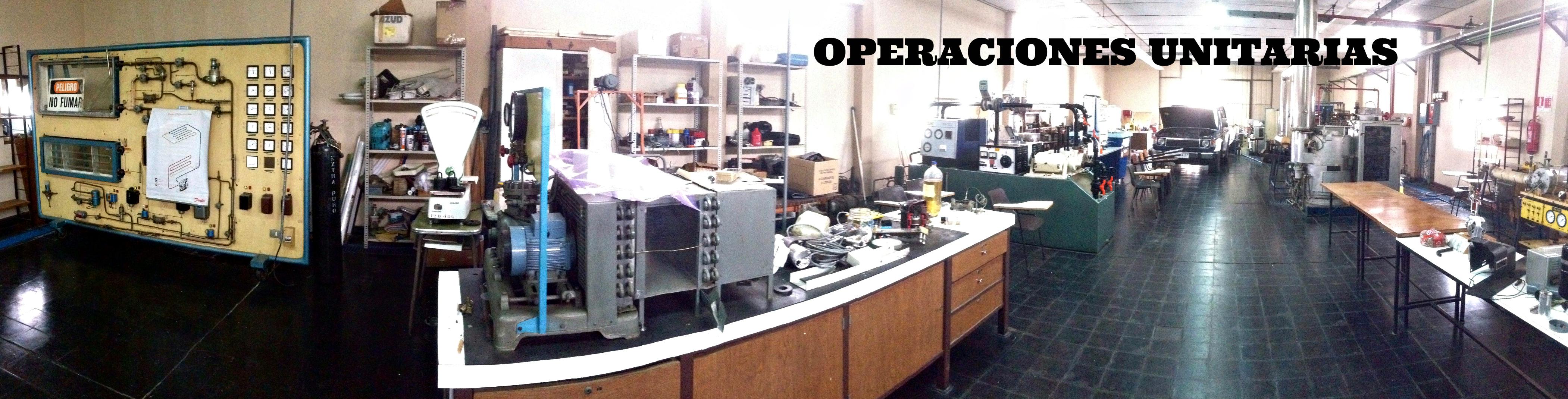 Laboratorio de Operaciones Unitarias