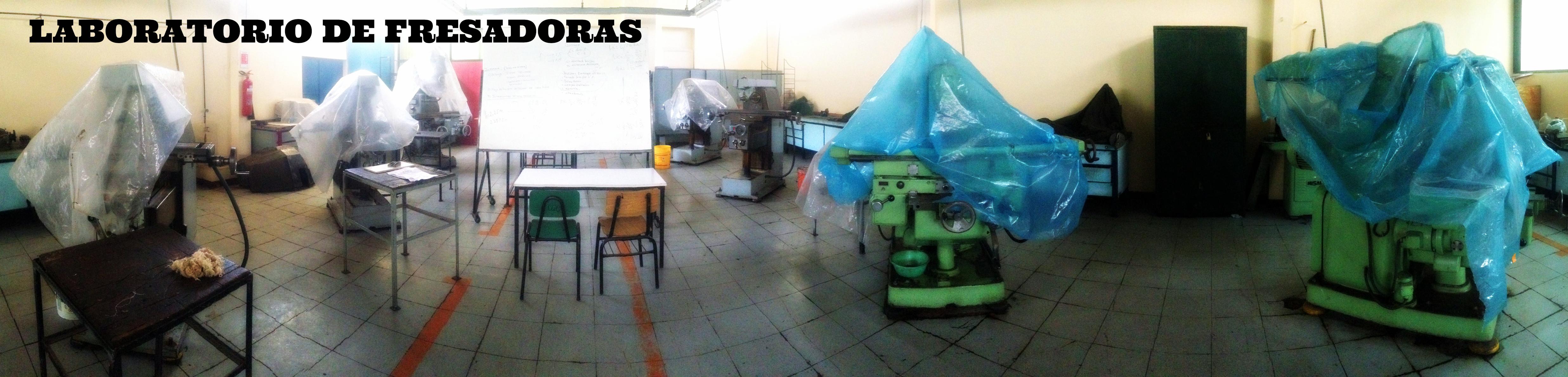 Laboratorio de Fresadoras