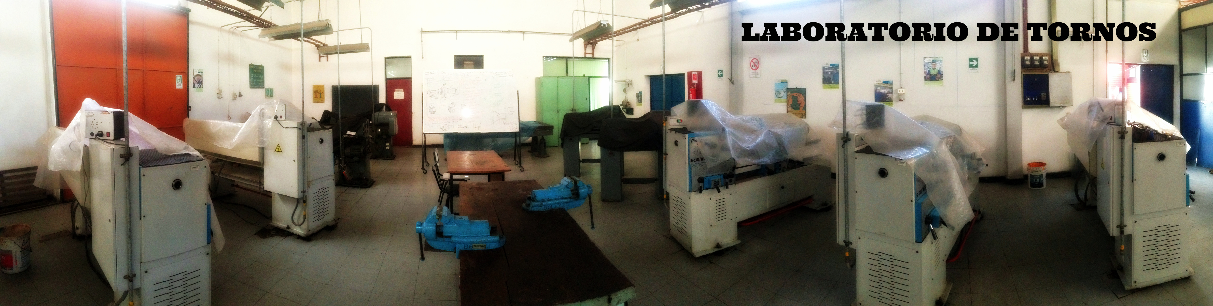 Laboratorio de Tornos